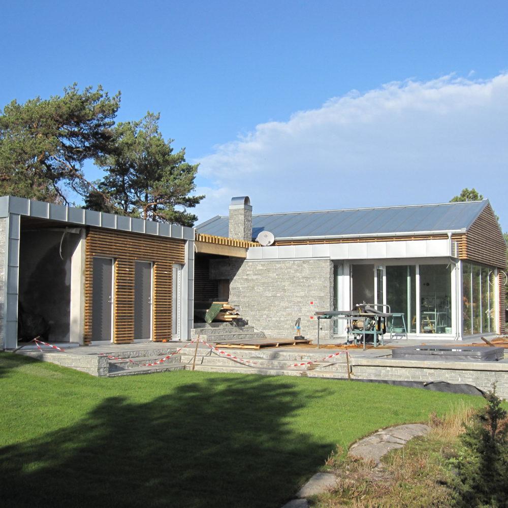 Utført på hytte i Ullerøy i Skjeberg 2011
